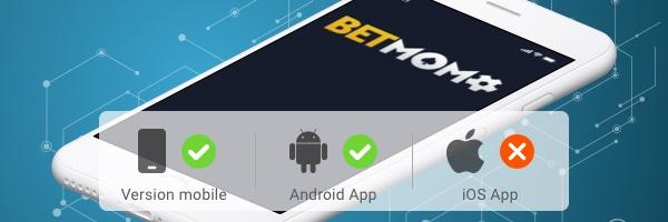 Betmomo application pour mobile