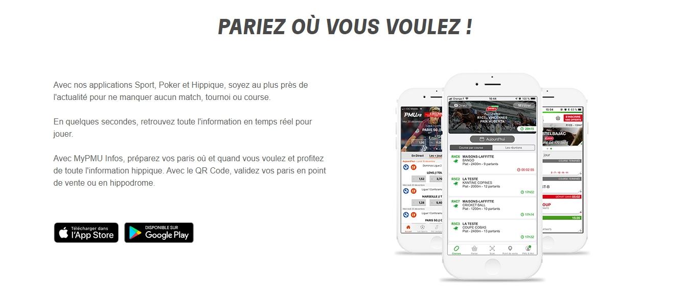 télécharger app PMU